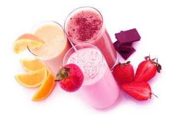 desayuno nutritivo batido de proteinas