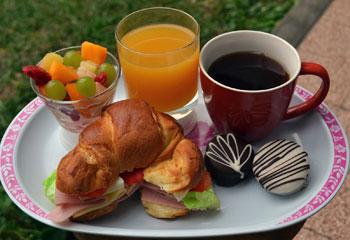 comida desayunar