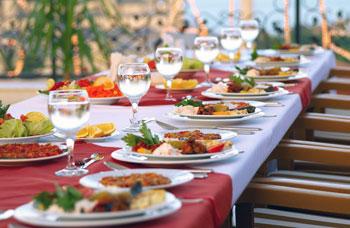 servicio de comida para eventos