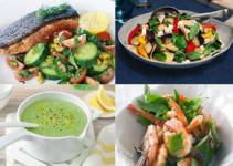 Comida Para La Dieta Sana y Saludable