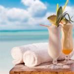 comida llevar playa